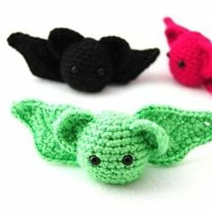 Crochet bat free patterns
