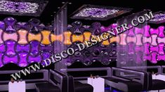LED Wave - Panels : 16 Million colors, DMX Sound to Light; Unlimited DMX programming possibility #ledpanels #discodesign