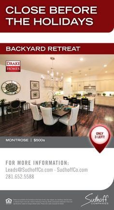 Montrose - Close by the holidays. Avondale Park by Drake Homes Inc., Houston, TX