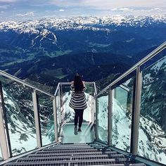 Gazing at the Austrian Alps in Austria  Photo by: @o_ibragimova_ // Sign up to @... | http://ift.tt/2b7Z089 shares #travel #destination for #rich #vacation and #holiday. #Get #hotels #Deals at http://ift.tt/2b7Z089