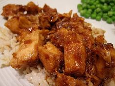Honey Sauced Chicken. One of my favourite crock pot chicken recipes right now.