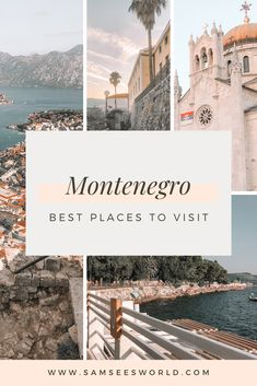 Kotor, Budva, Perast, Podgorica, Barr and more! Europe Travel Guide, Europe Destinations, Asia Travel, Travel Guides, Travel Advice, Holiday Destinations, Beautiful Places To Visit, Cool Places To Visit, Places To Travel