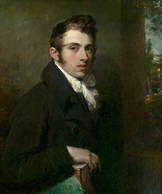 A younger portrait of Sir John Dowling of Scarletsfield Park. Looks about the… John Keats, Beauty In Art, Male Beauty, Selfies, L'art Du Portrait, Portrait Paintings, National Gallery, Art Gallery, Painting Studio