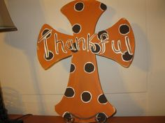 Items similar to Wooden Cross Door Hanger Fall Cross Door Hanger Thanksgiving Door Hanger on Etsy Painted Wooden Crosses, Hand Painted, Cross Door Hangers, Craft Night, Fall Crafts, Happy Holidays, Wood Crafts, Snoopy, Handmade Gifts