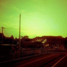 Kenichi Kamio - Oiwake Station from Today's piano piece   Sept18th,2015  Healing piano no.1266 「追分駅」夕暮れ時。