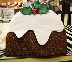 Christmas pudding tea cozy from Ulster Weavers. £15