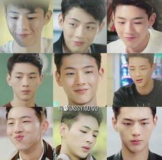 sassy go go seo ha joon smiles