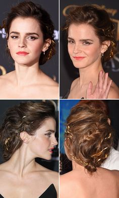 Emma Watson's 'Gentle Warrior' Hairstyle — Get Exact Romantic Updo For Prom