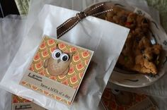 Owl treat bag tags