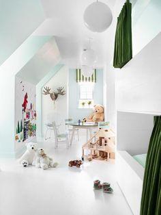 Three Zones - Unused Attic Space Becomes Boys' Bedroom on HGTV