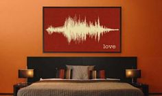 Love it! you record yourself saying a word, and you can buy a painting of it. I'm going to buy one like this someday