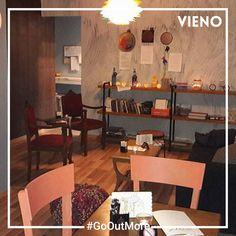 The art cafe that will make your night out with friends a unique experience. Discover it with VIENO. Drinking Every Night, Art Cafe, Cool Bars, Going Out, Restaurant, App, Make It Yourself, Friends, Simple