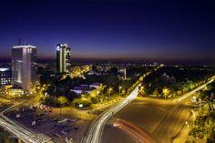 Blue Hour over Victoria Square