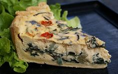 Blueberry Girl: Quiche - it's low fat!
