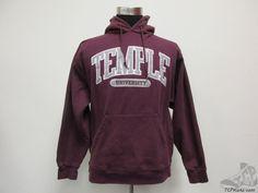Jansport Temple Owls SEWN Hoody Sweatshirt sz M Medium University Hoodie NCAA #Jansport #TempleOwls