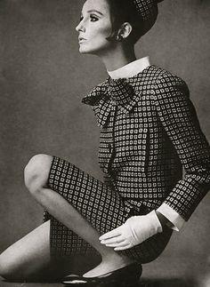 Beate Schulz in Dior 1966