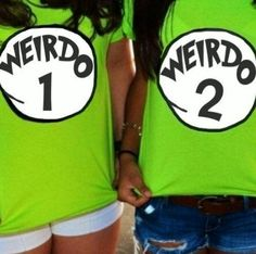 Haha cool bff shirt