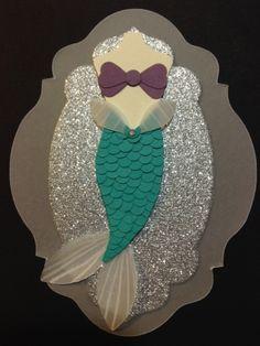 Punch Out Ariel Dress #DIY #Disney #LittleMermaid