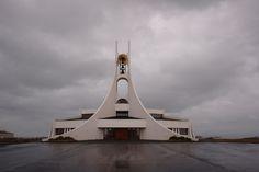 """Icelandic Churches"" by Pieter Vandenheede on Exposure Iceland, Architecture, Summer, Ice Land, Arquitetura, Summer Time, Architecture Design"