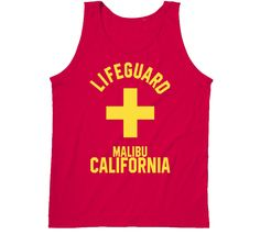 Look at that, you found our Lifeguard Malibu California Coastal City Ocean Swimming Beach Bum Tanktop! Made to order and completely customizable have your Tanktop personally designed for you today. Malibu California, Los Angeles California, Beach T Shirts, Lifeguard, Beach Bum, Coastal, Swimming, Ocean, Tank Tops