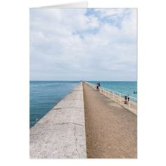 Jersey St.Catherine's Breakwater greeting card - occasion gifts gift idea diy