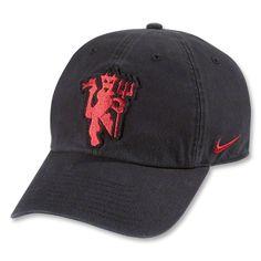 Manchester United Core Cap (Black)  #Manchester United