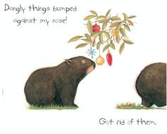 <3 Diary of a *Christmas* Wombat by Jackie French