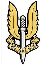 """who dares, wins"" tattoo"