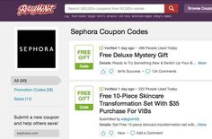 Before buying online, check RetailMeNot for coupons.