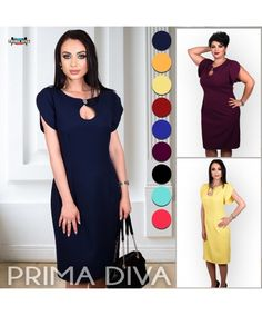 Short Sleeve Dresses, Dresses With Sleeves, Dresses For Work, Outfits, Fashion, Moda, Suits, Sleeve Dresses, Fashion Styles