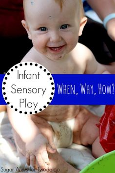 Get the scoop on infant sensory play- why you should do it, when to start, and simple ideas from an occupational therapist.