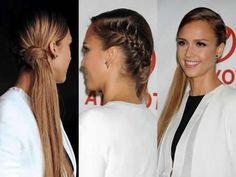 trenza + nudo 2 Blake Lively, Rihanna, Fiesta Outfit, Tips Belleza, Jessica Alba, Love Hair, About Hair, Hair Looks, Fashion Beauty