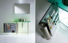 Minimalist Small Bathroom Skin with Color Schemes by Axolo