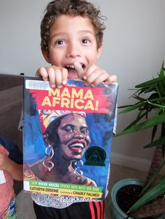 BOOK REVIEW: MAMA AFRICA!- HOW MIRIAM MAKEBA SPREAD HOPE WITH HER SONG