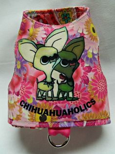 Are you a chihuahuaholic?  Here is a beautiful harness by Kiki Hamann  for her new Ready to wear line: Fetch    email.  info@kikihamann.com   www.kikihamann.com