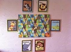 DIY Safari nursery decor