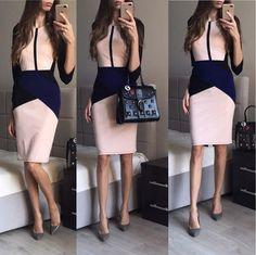 Покупай дешевле : Строгое платье.