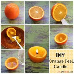 Brilliant natural diy car air freshener ideas Hacks 3 Orange Peel Candles Viralnova 10 Simple Diy Air Fresheners You Can Make At Home In Minutes House Smell Good, House Smells, Homemade Candles, Scented Candles, Candle Jars, Orange Peel Candle, Orange Candles, Long Burning Candles, Do It Yourself Inspiration