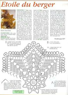 preporiamoci v novém roce! Free Crochet Doily Patterns, Crochet Doily Diagram, Crotchet Patterns, Beading Patterns Free, Tatting Patterns, Filet Crochet, Crochet Motif, Crochet Dollies, Crochet Stars