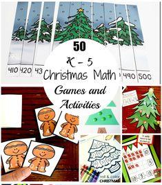 50 Christmas Math Ga