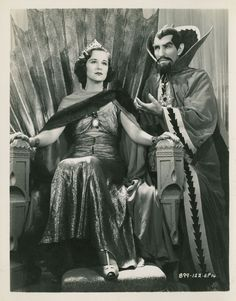 Beatrice Roberts and Charles Middleton, Flash Gordon's Trip to Mars (1938)
