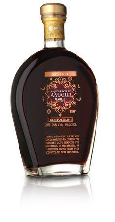 Amaro tosolini boasts a recipe that dates back to 1918