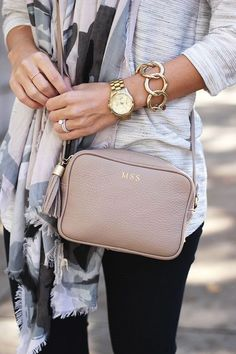 We'll take any bag that goes with every outfit.