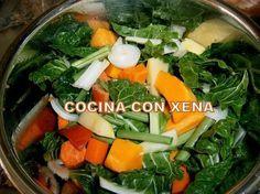 COCINA CON XENA: Crema de verduras en Gm E y D