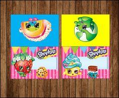 80% OFF Venta Shopkins alimentos tienda tarjetas por youparty