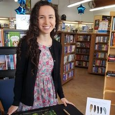 "Francesca G. Varela, author of Listen, an ""ecological"" YA novel about young love, music, and the natural world."