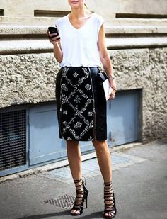 8 White T-Shirts You Should Own (and How to Wear Them) via @PureWow
