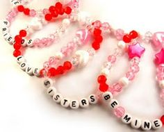 All About Alphabet Beads - Project Ideas: Valentine's Day School Fundraising Idea