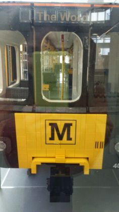 Lego model of the metro. The Word in South Shields