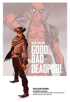 Deadpool Cowboy by Dan Mora
